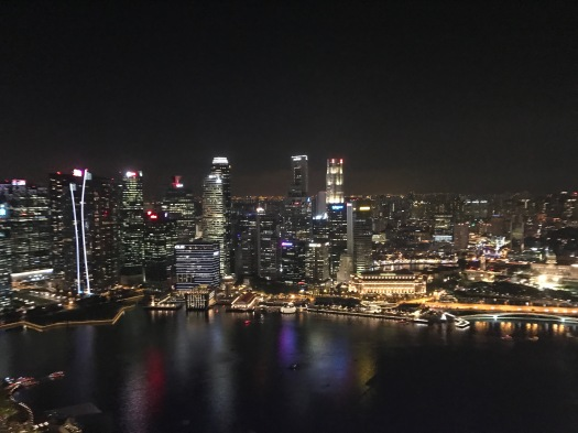 Singapur skyline 3 - 1